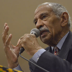 Cong. John Conyers at Congressional Black Caucus Conference 2015