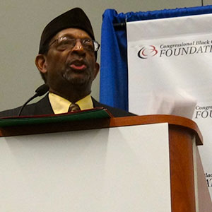 Dr. Ron Daniels, President of the Institute of Institute of the Black World 21st Century (IBW).