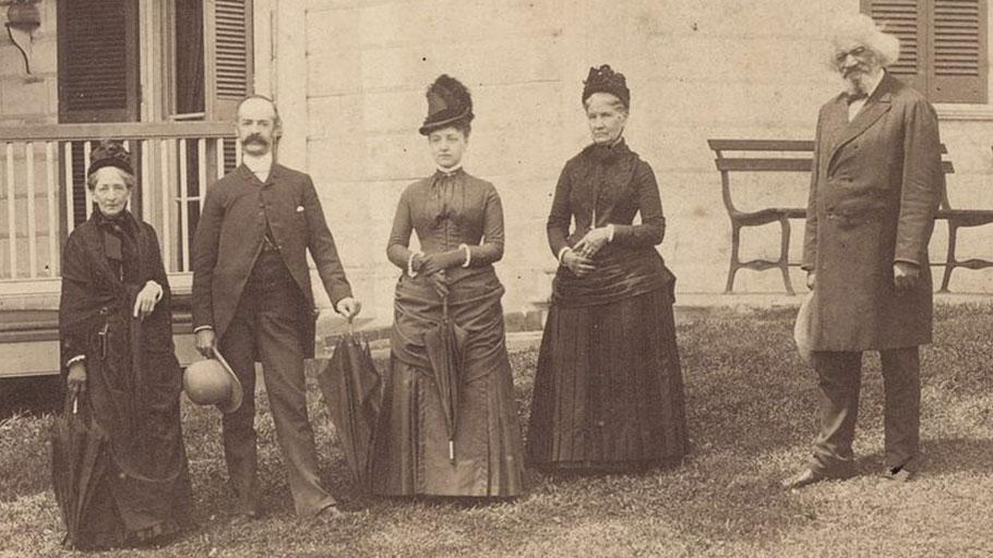 Frederick Douglass in Ireland in 1880s