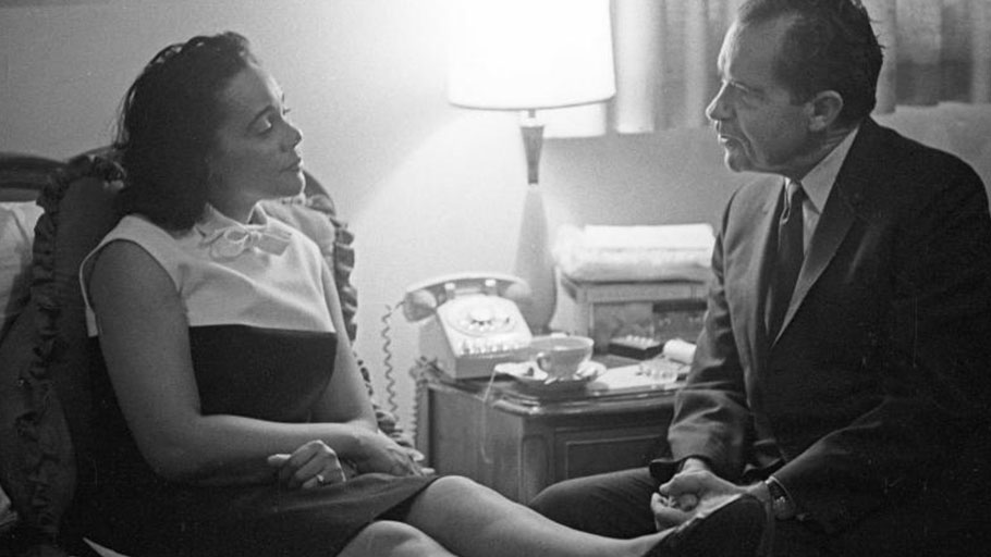 Richard Nixon's Secret Visit With Coretta Scott King