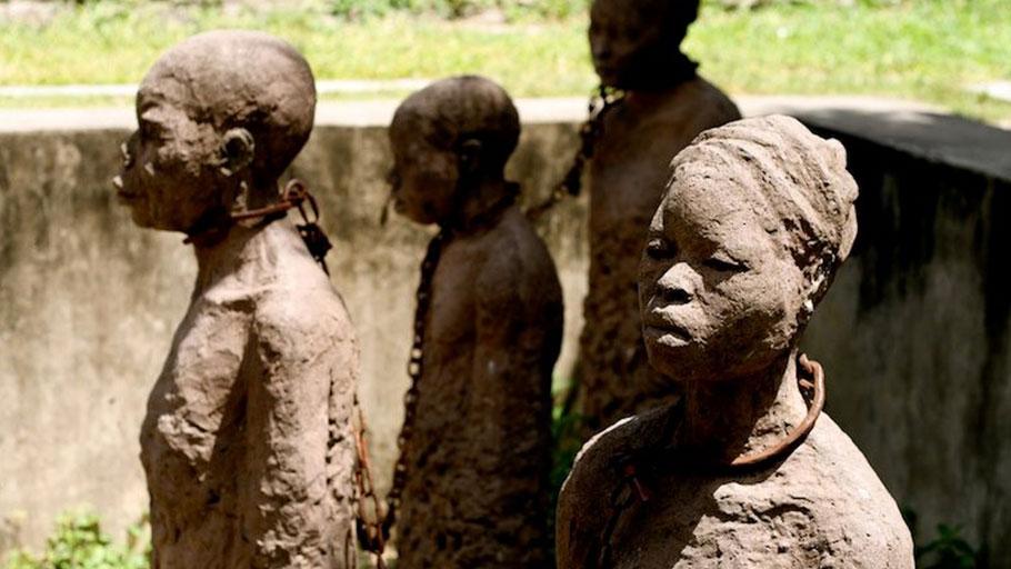 Zanzibar: Memory of Slaves.