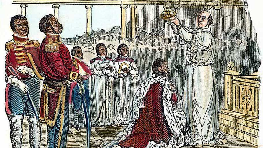 The coronation of King Henry