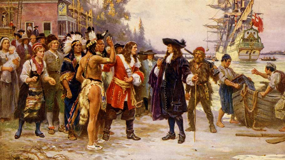 The Landing of William Penn. United States Library of Congress