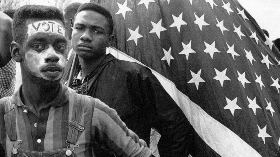 Selma marchers in 1965