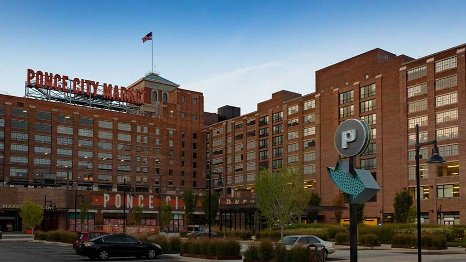 What is now Ponce City Market was once Sears, Roebuck & Co.'s southeastern hub.