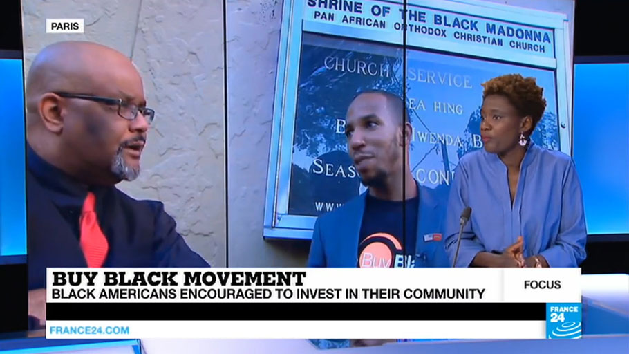 Buy Black and Bank Black: Movement in the US Gains International Attention