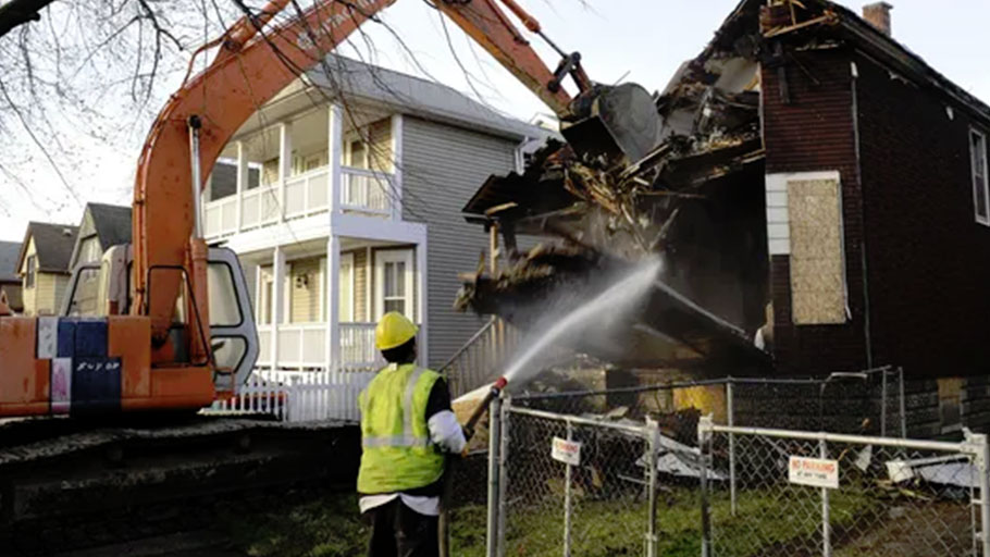 In Michigan, which accounts for nearly half of all committed federal funds for blight demolition, the average cost paid with federal dollars increased by 90 percent in less than three years.