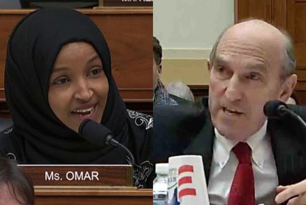 Ilhan Omar and Elliott Abrams