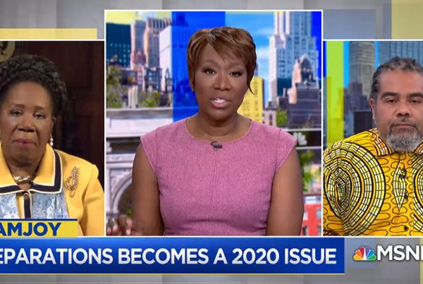 Reparations for slavery becoming 2020 hot button issue