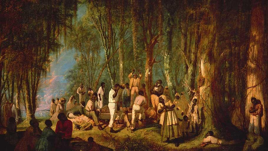 Plantation Burial by John Antrobus.