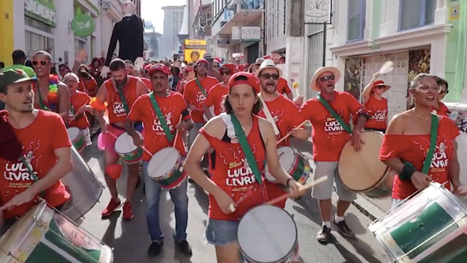 Free Lula Samba at Brazil's Carnival