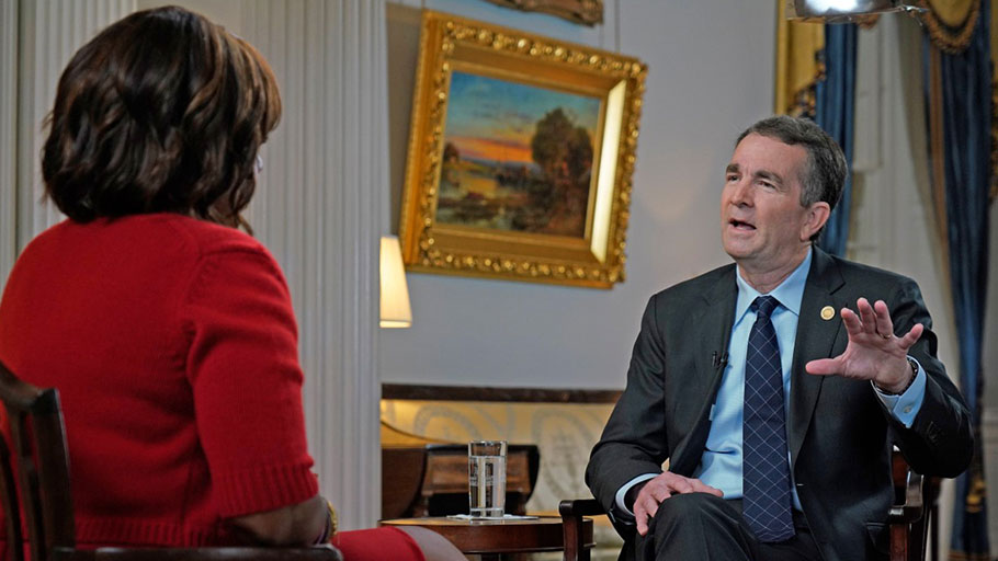 Gayle King interviews Ralph Northam