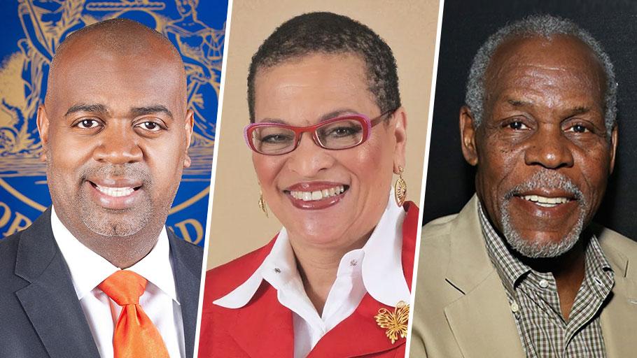 Mayor Ras J. Baraka, Danny Glover, Dr. Julianne Malveaux