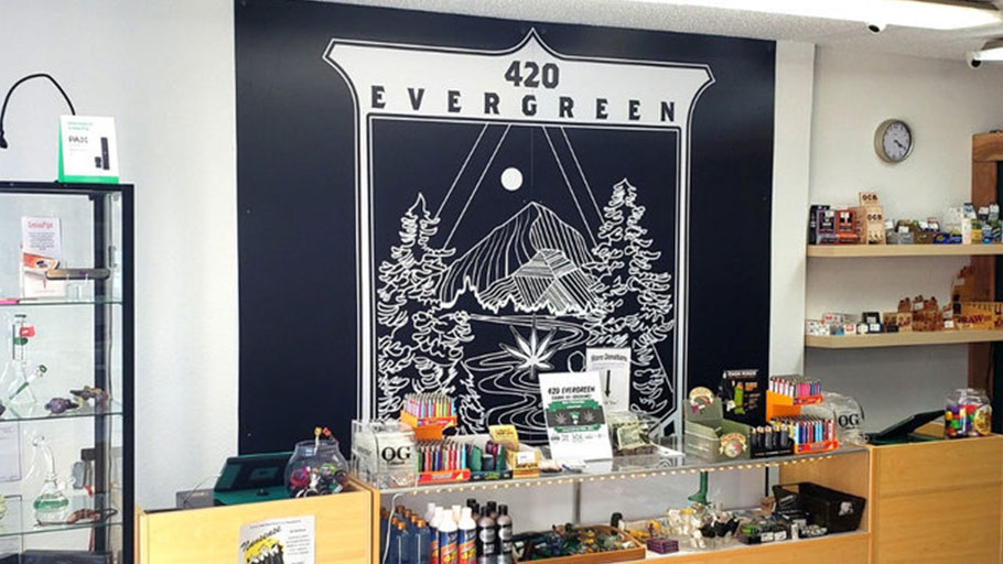 420 Evergreen Pot Shop