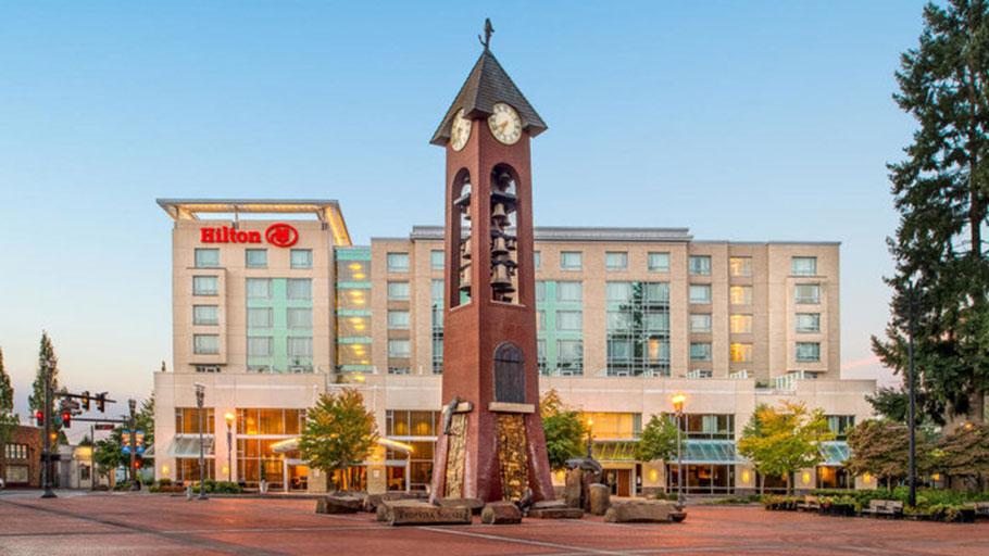 The Hilton Vancouver Washington
