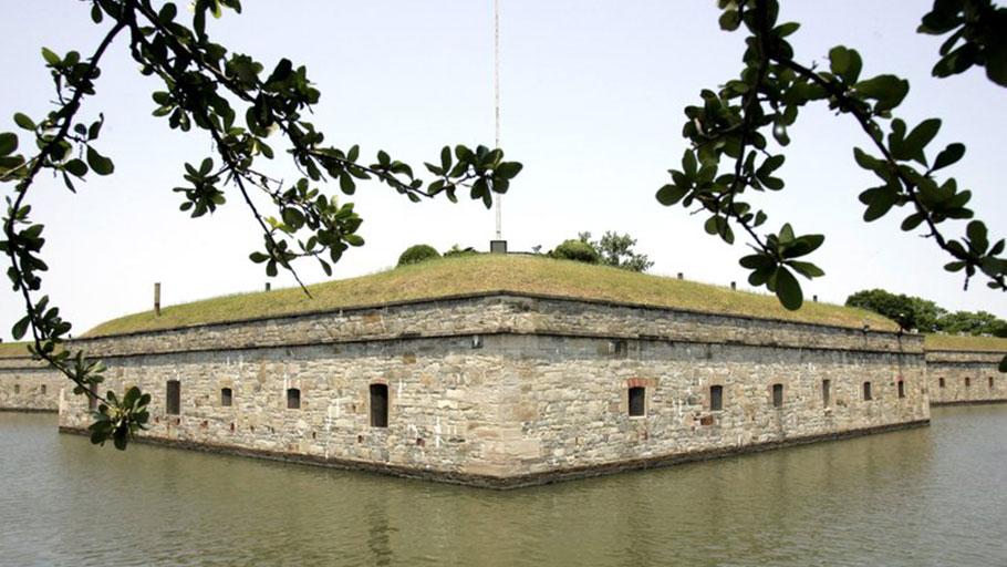 Fort Monroe in Hampton, Va