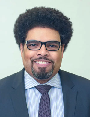 Economist Darrick Hamilton is executive director of the Kirwan Institute for the Study of Race and Ethnicity at Ohio State University