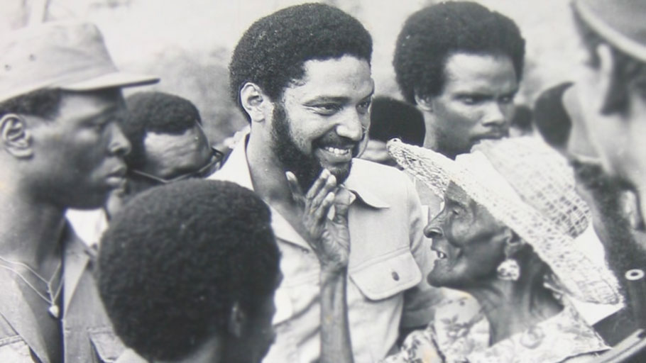 Maurice Bishop (1944-1983) - Maurice Rupert Bishop was a Grenadian revolutionary and the leader of New Jewel Movement – popular efforts in the areas of socio-economic development, education, and Black liberation – that came to power during the 13 March 1979 revolution that removed Eric Gairy from office