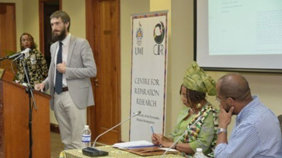 Mr. Aleksei Alexeyevich Sazonov, Head of Consular Section/Press Attache, Russian Embassy, Jamaica.