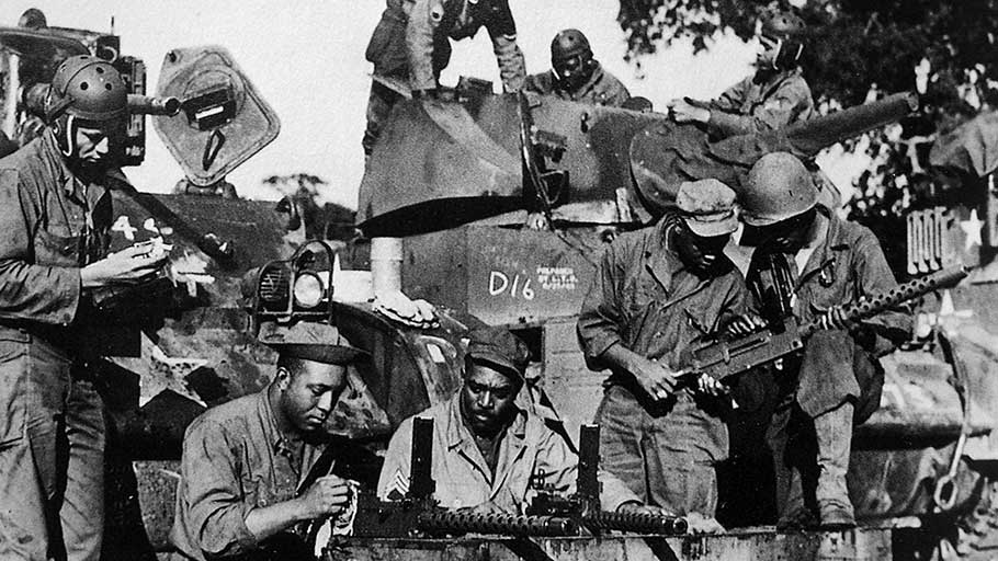 Black Panther Division Tank Battalion WW2