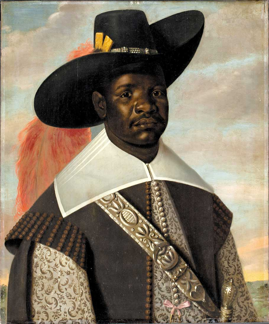 Dom Miguel de Castro, Emissary of Kongo; painting attributed to Jaspar Beckx, circa 1643