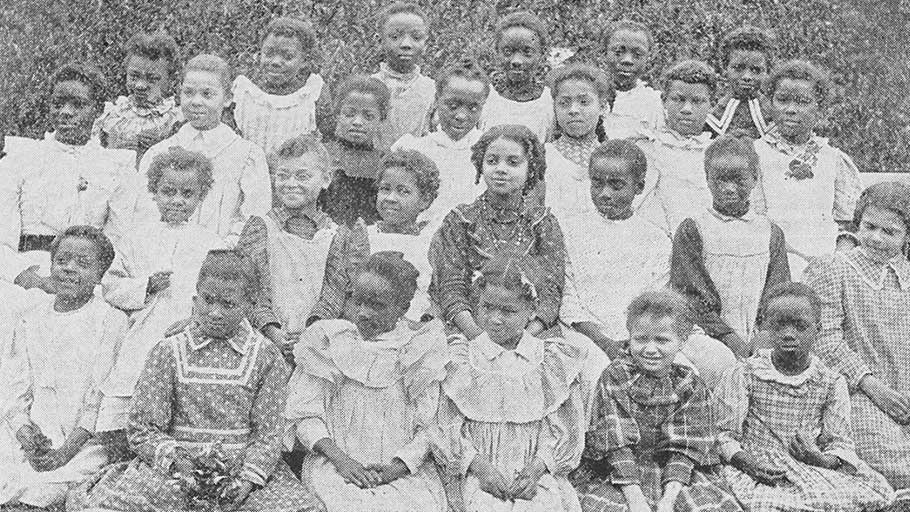 Grandchildren of slaves. Schomburg
