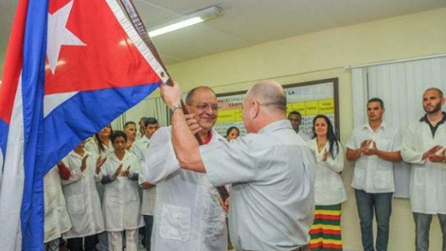 Cuban doctors in Peru
