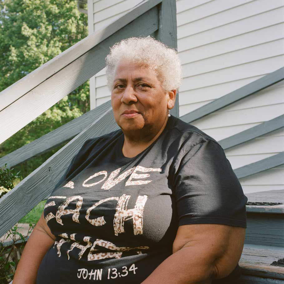 Ada Monroe Saylor is one of the eldest Monroetown descendants.