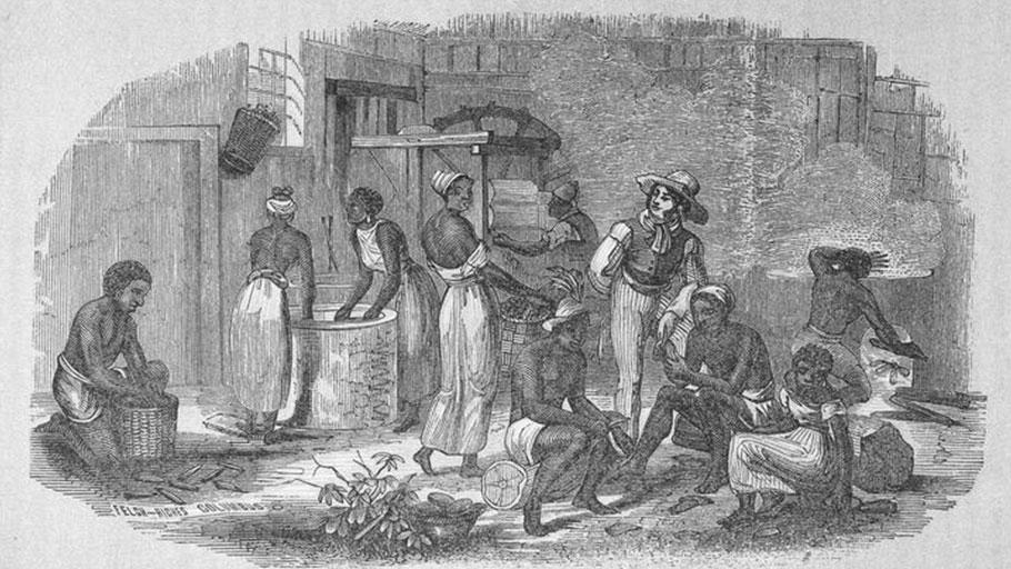 Brazil Slave Plantation