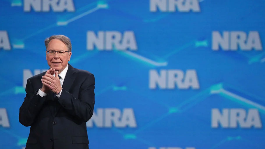 NRA Vice President and CEO Wayne LaPierre