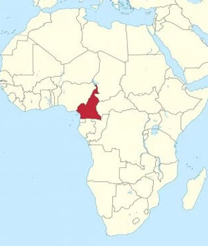 cameroon-western-africa-map-300px - Institute of the Black ...