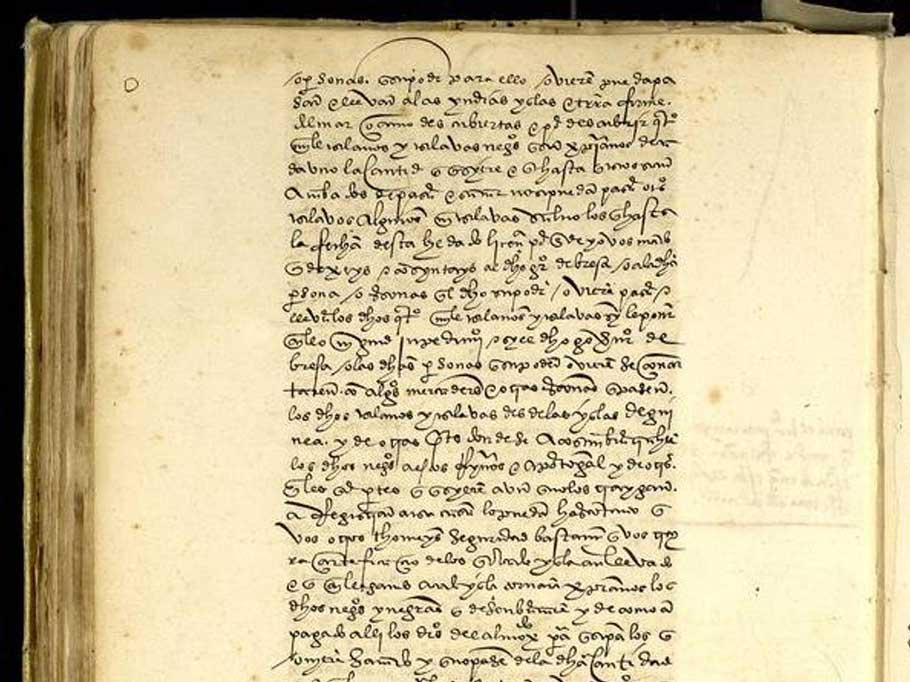 The royal document which launched the Africa to Americas transatlantic slave trade