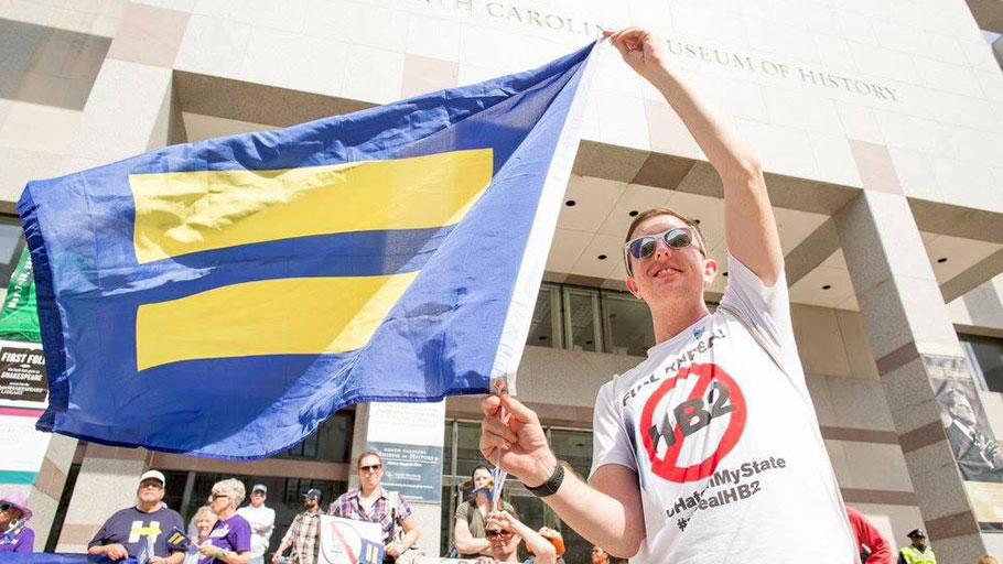 "Protests and lawsuits against North Carolina's notorious anti-transgender ""bathroom bill"" have led to a legal settlement that's being hailed by human rights advocates. But lawmakers in other states are continuing to target the transgender community with discriminatory proposals."