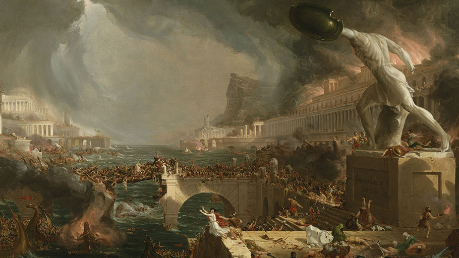 Thomas Cole: The Course of Empire: Destruction (1836)