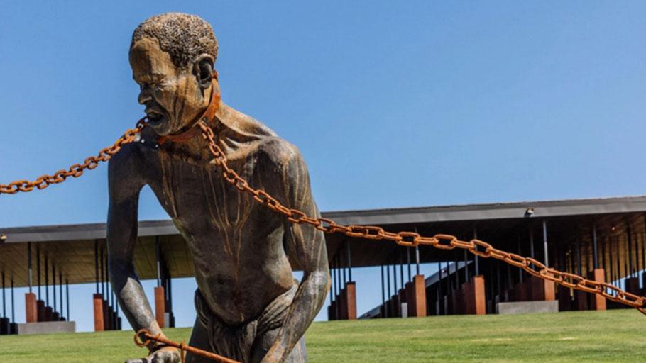 American Slave Statue