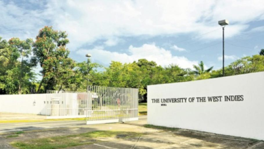 Main entrance to the University of the west Indies, Mona campus