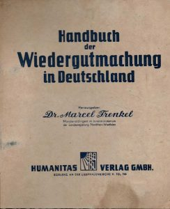 A German guide: rules and directives in order to make a claim before the Luxembourg Agreement, 1949