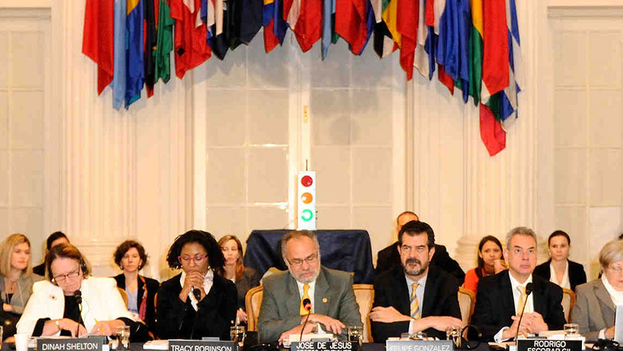 Members of the Inter-American Commission on Human Rights October 31, 2012.