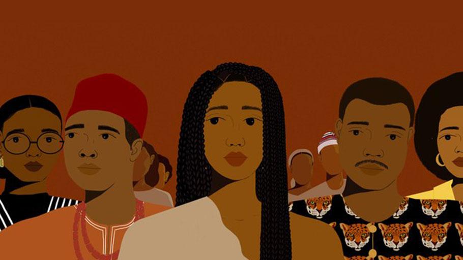 Slave Descendant - Illustration by Ojima Abalaka