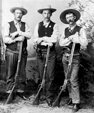 "Three Slave Patrollers or ""Paddyrollers""."