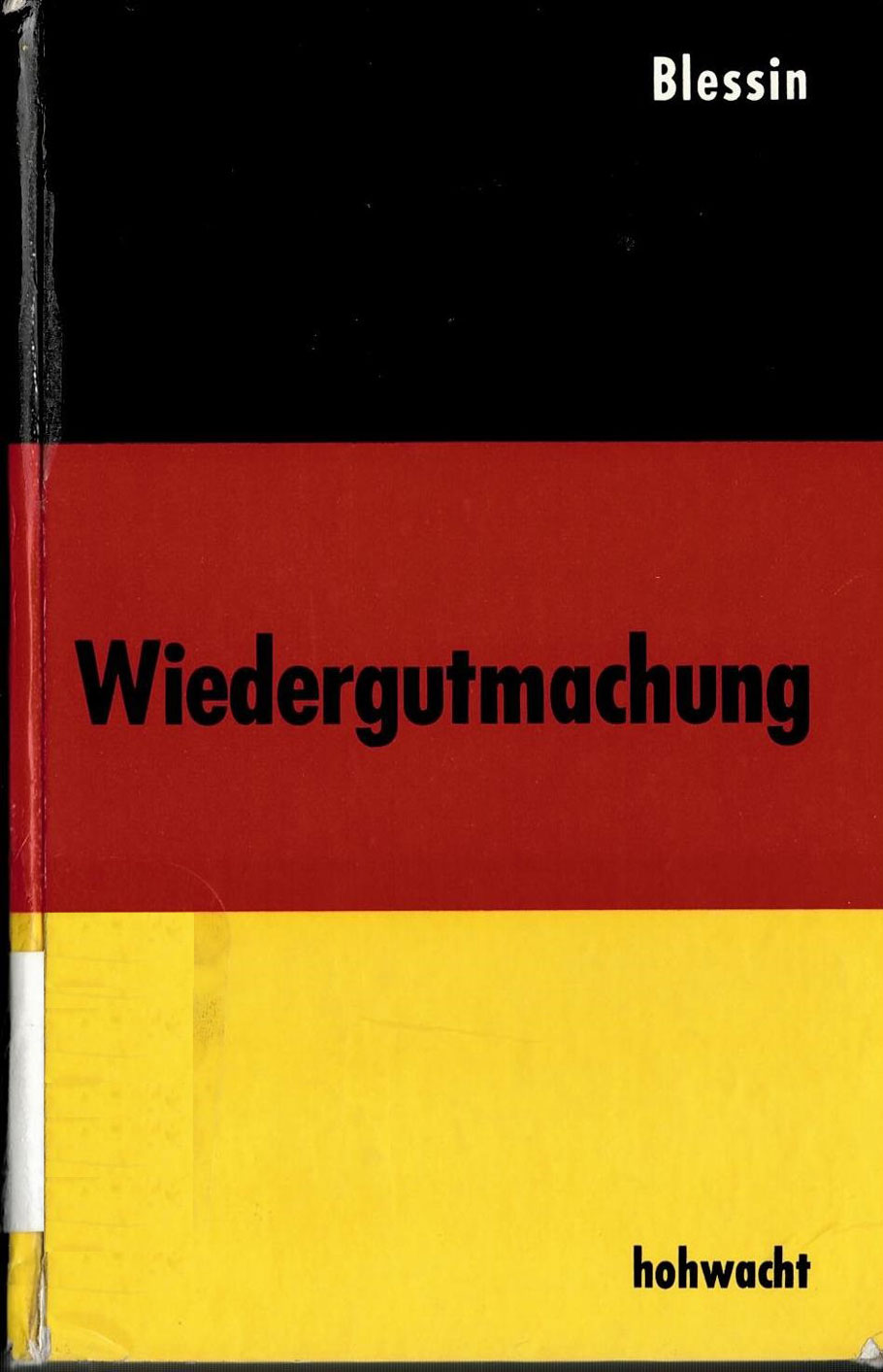 Official information from the German government regarding reparations, 1960