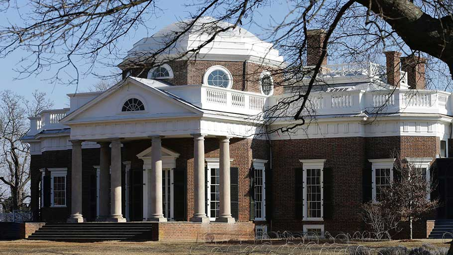Monticello in Virginia.