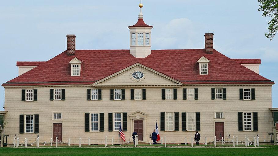 Mount Vernon in Virginia.
