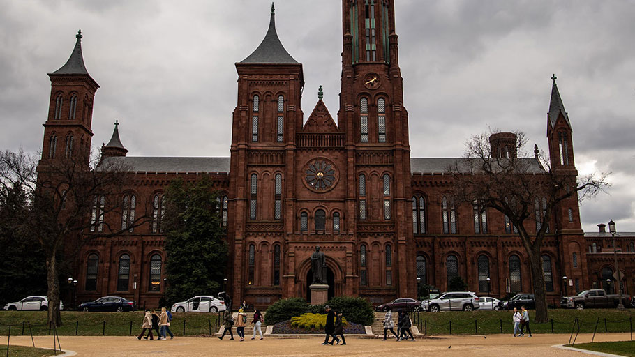 The Smithsonian Institution in Washington, D.C.