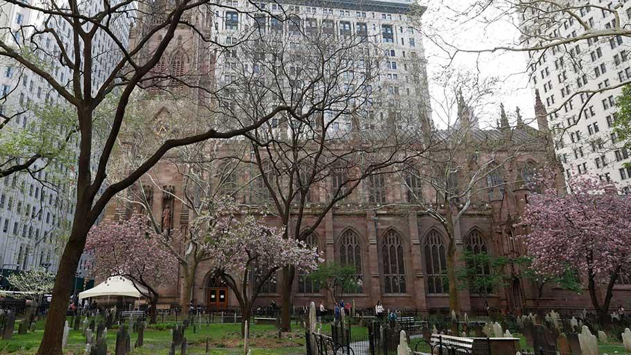 Trinity Church in New York.