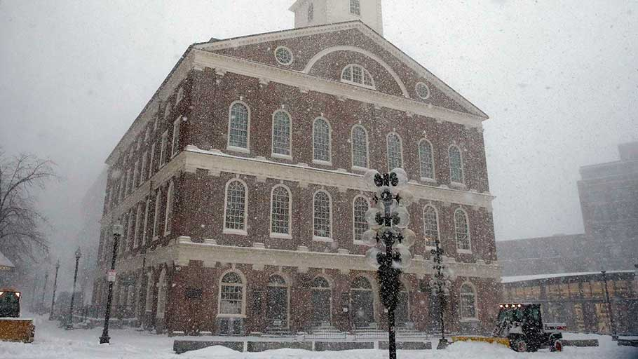 Faneuil Hall in Boston.
