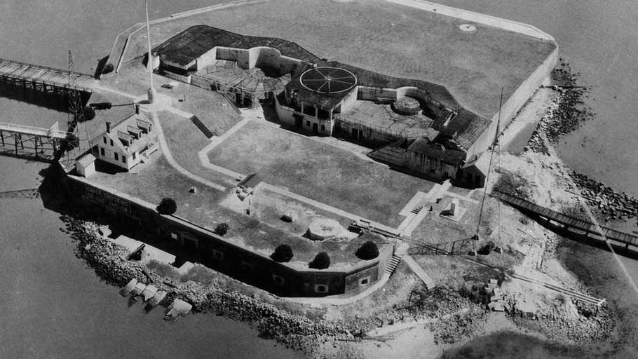 Fort Sumter in South Carolina.