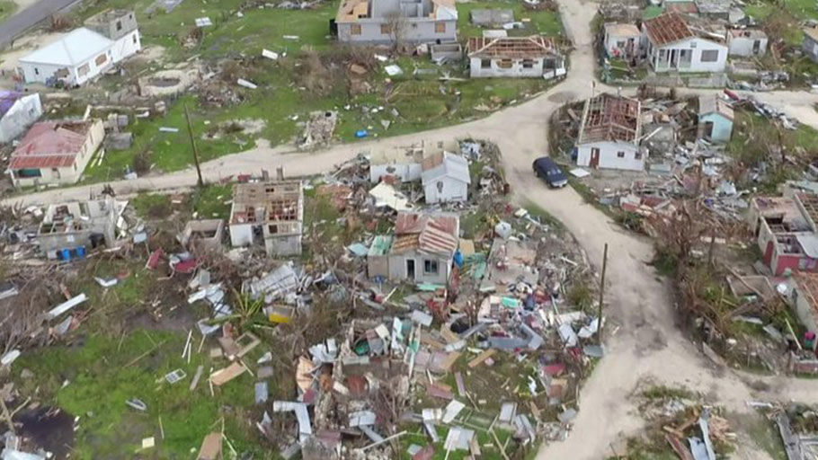 Barbuda, the small Caribbean island devastated by Hurricane Irma