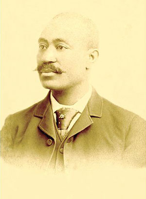 Arthur H. Simms, Wood's son, photographed in 1883 or 1884, at about age 27.