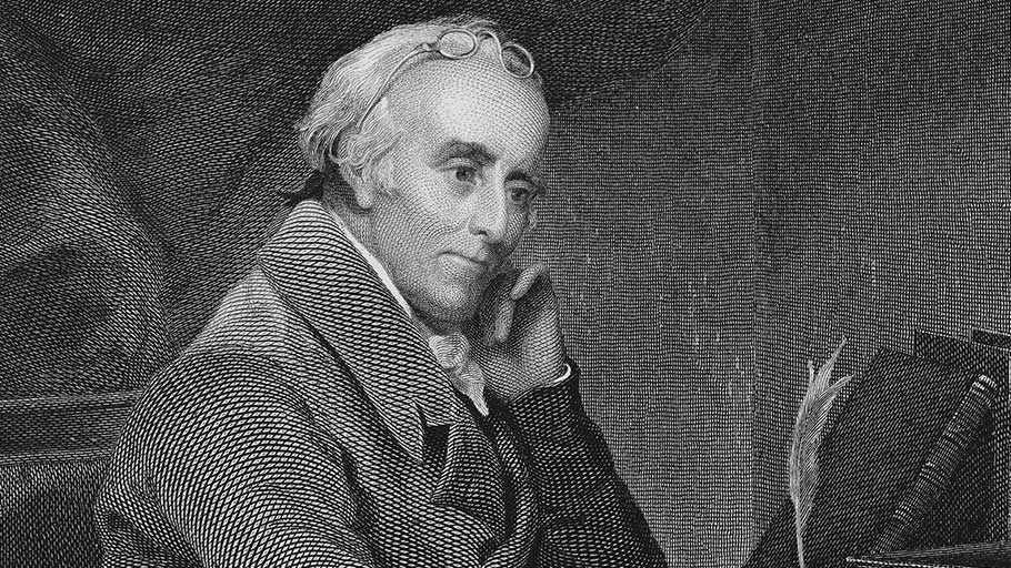Benjamin Rush (1746–1813), signer of the Declaration of Independence and abolitionist leader.